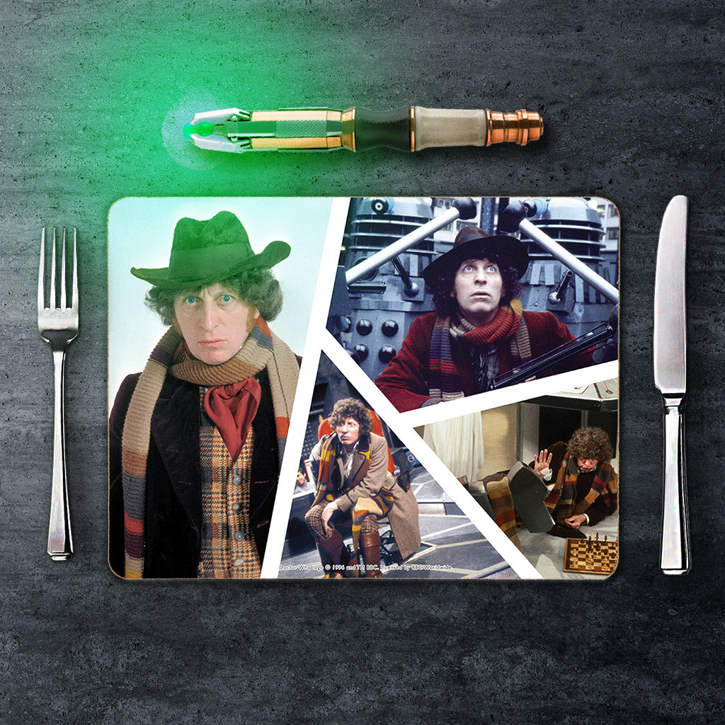 Fourth Doctor Photographic Placemat (Lifestyle)