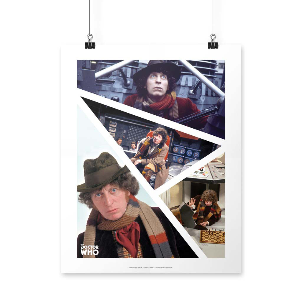 Fourth Doctor Photographic Art Print