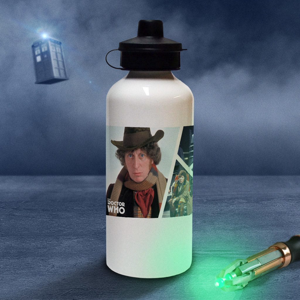 Fourth Doctor Photographic Water Bottle (Lifestyle)