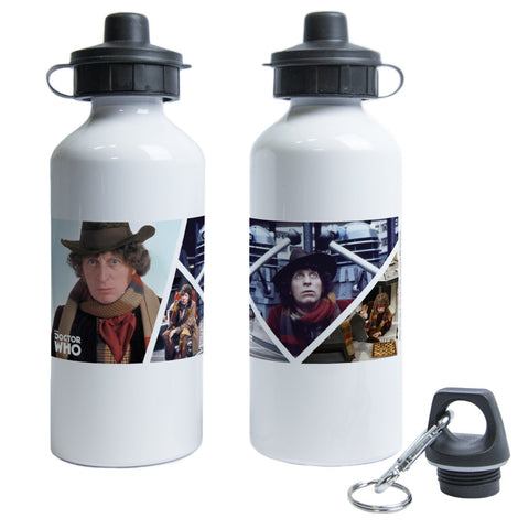 Fourth Doctor Photographic Water Bottle