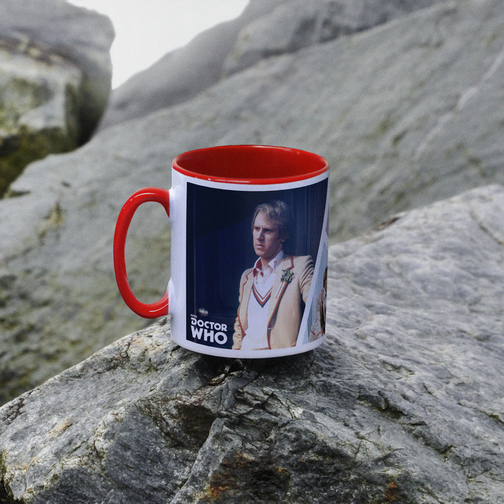Fifth Doctor Photographic Colour Insert Mug (Lifestyle)