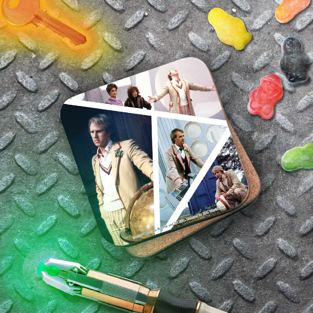 Fifth Doctor Photographic Coaster (Lifestyle)