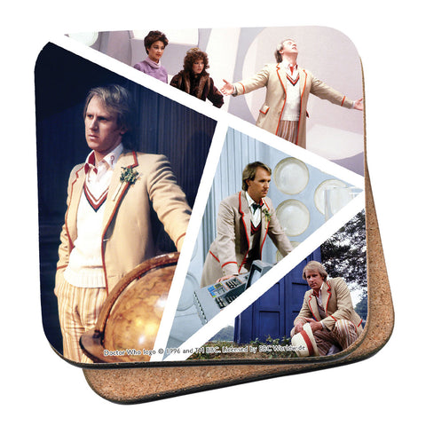 Fifth Doctor Photographic Coaster