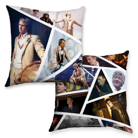 Fifth Doctor Photographic Cushion