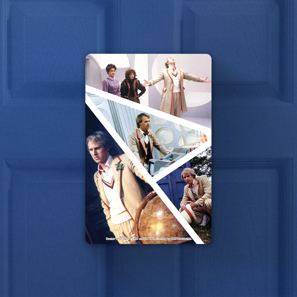 Fifth Doctor Photographic Door Plaque (Lifestyle)