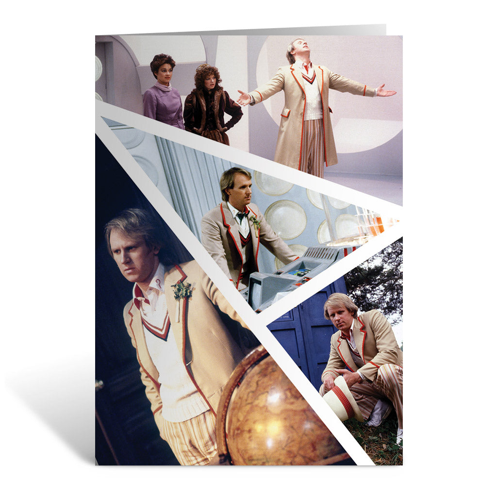 Fifth Doctor Photographic Greeting Card
