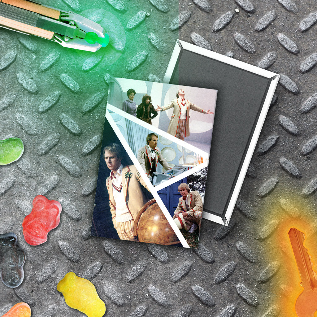 Fifth Doctor Photographic Magnet (Lifestyle)