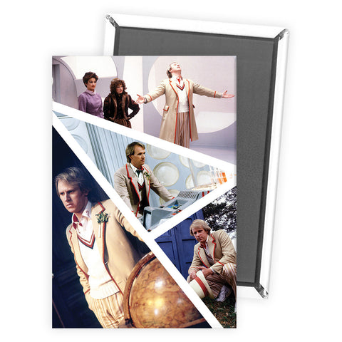 Fifth Doctor Photographic Magnet