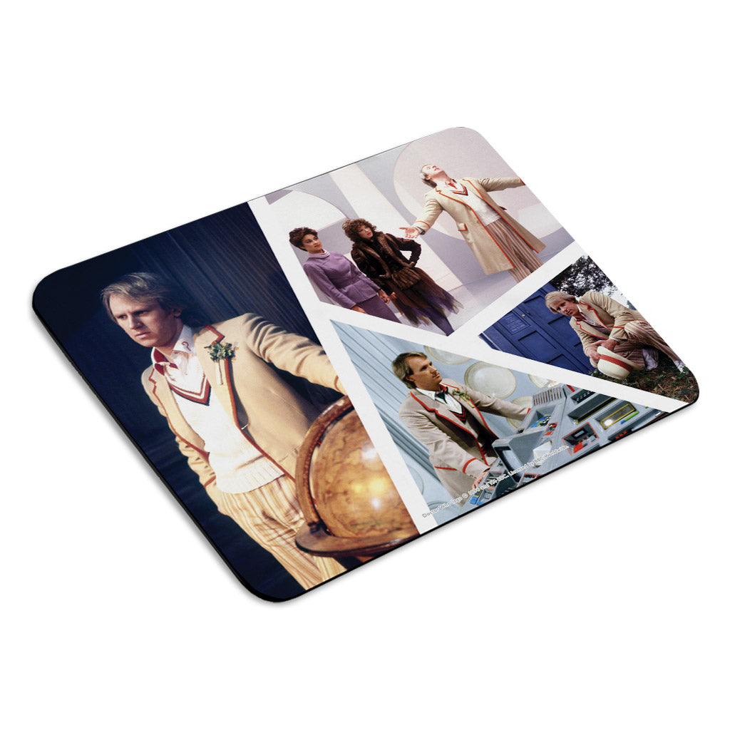 Fifth Doctor Photographic Mousemat