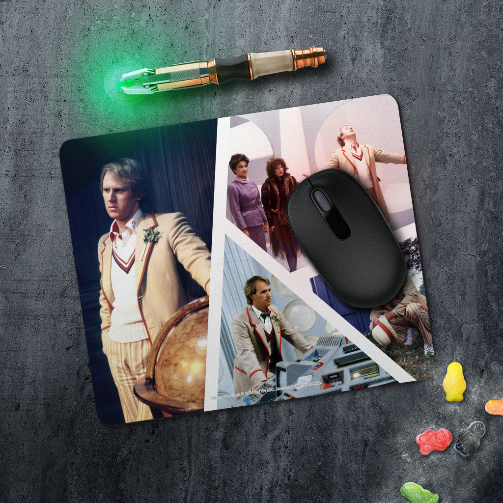 Fifth Doctor Photographic Mousemat (Lifestyle)