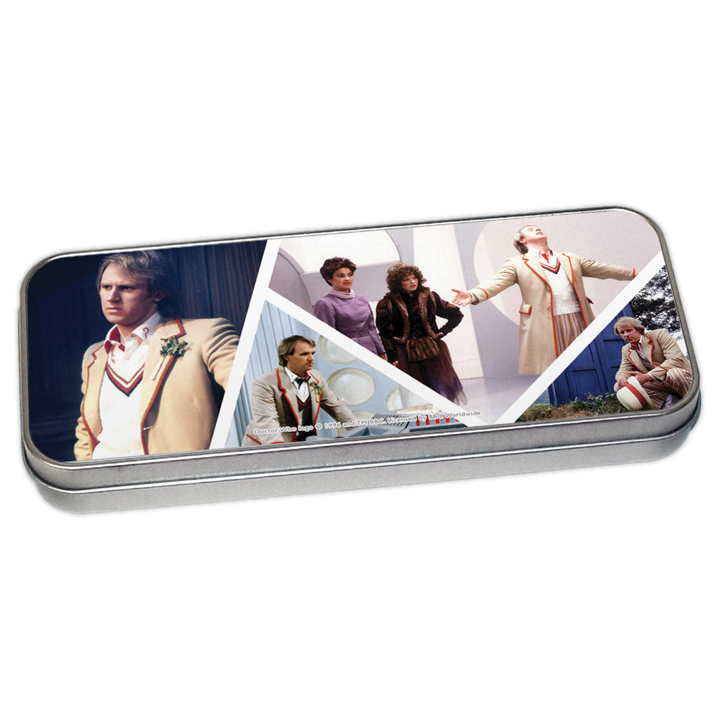 Fifth Doctor Photographic Pencil Tin