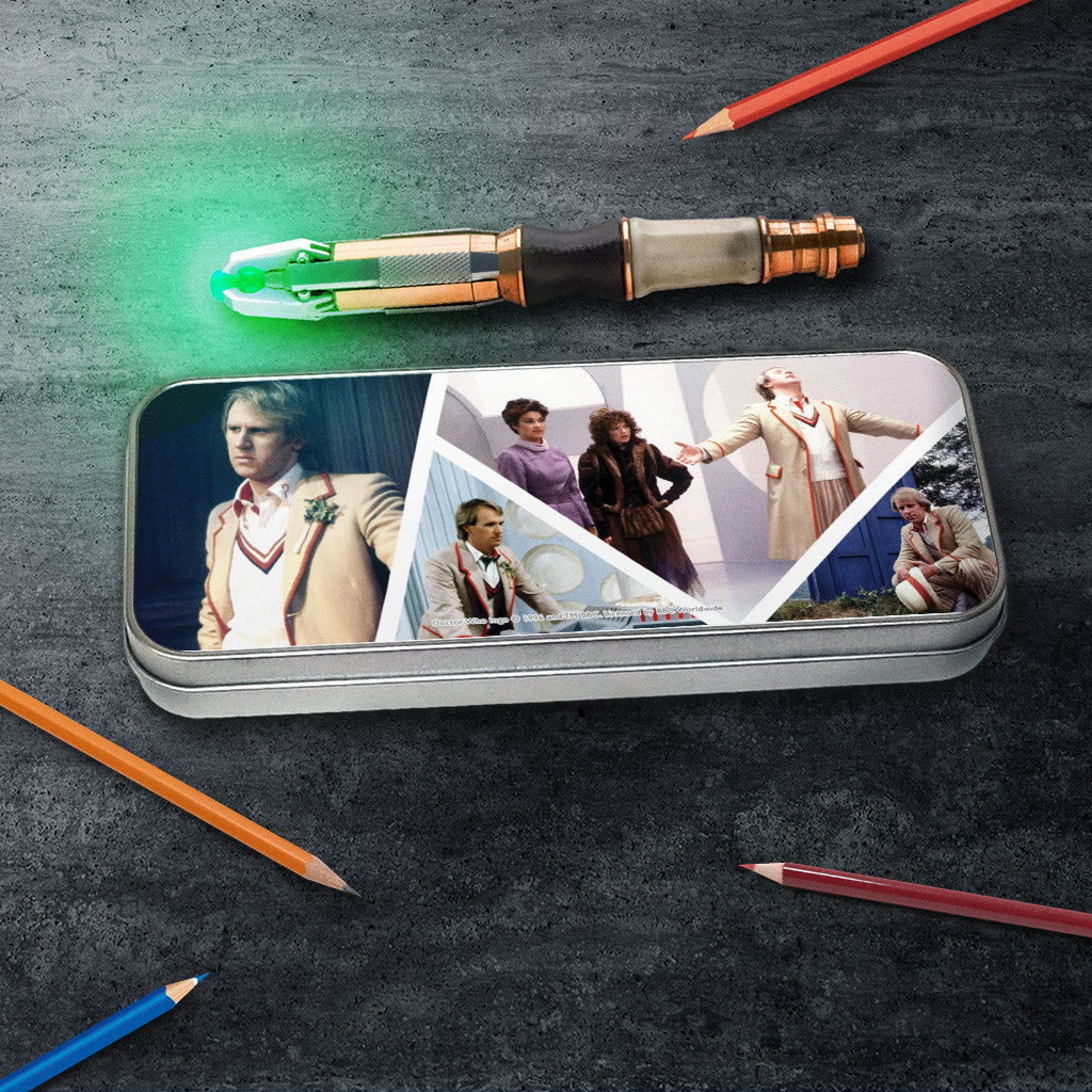 Fifth Doctor Photographic Pencil Tin (Lifestyle)