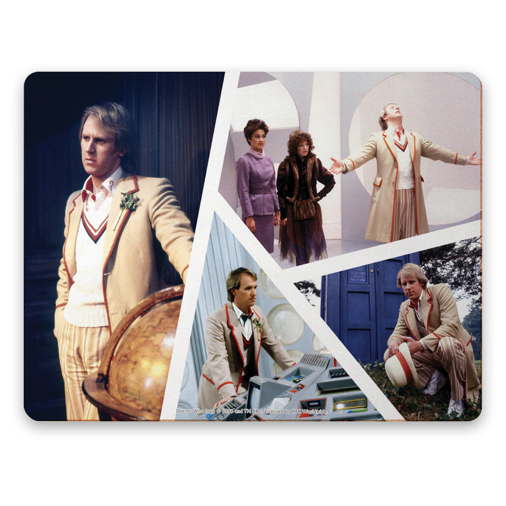 Fifth Doctor Photographic Placemat