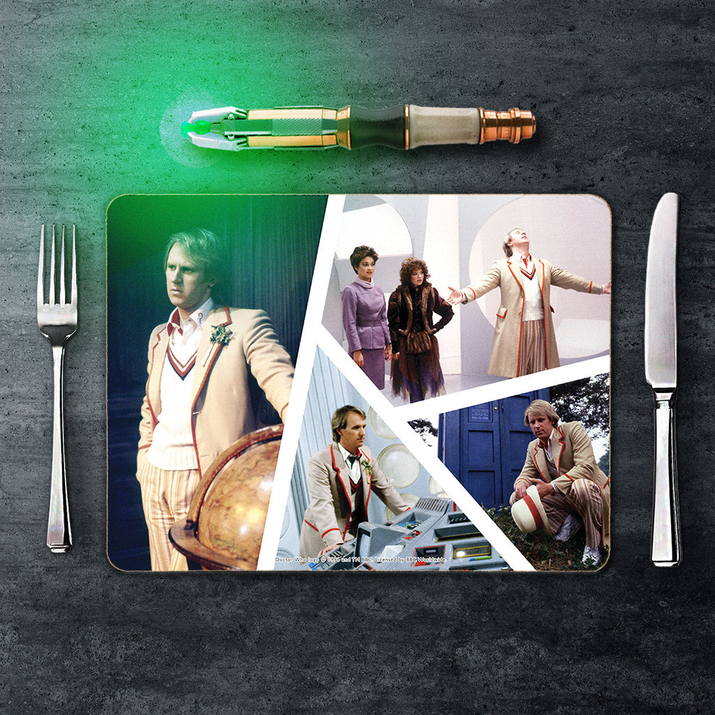 Fifth Doctor Photographic Placemat (Lifestyle)