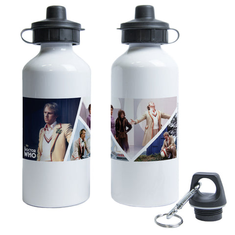 Fifth Doctor Photographic Water Bottle