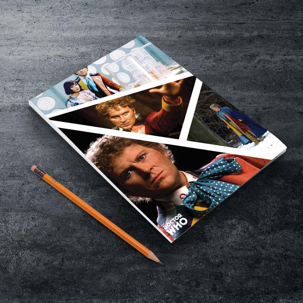 Sixth Doctor Photographic A5 Notepad (Lifestyle)