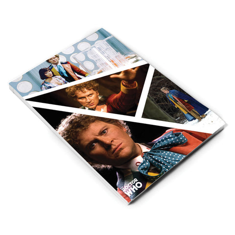 Sixth Doctor Photographic A5 Notepad