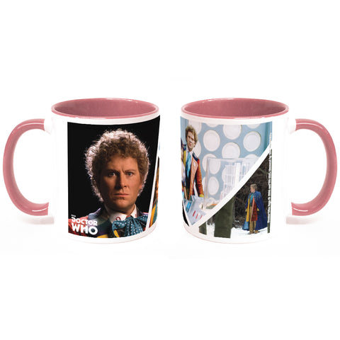 Sixth Doctor Photographic Colour Insert Mug