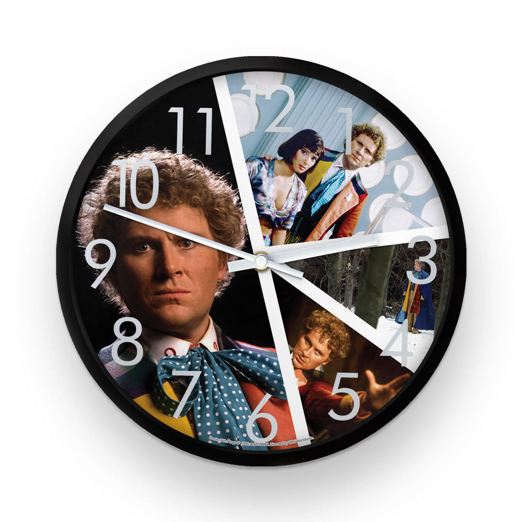 Sixth Doctor Photographic Clock