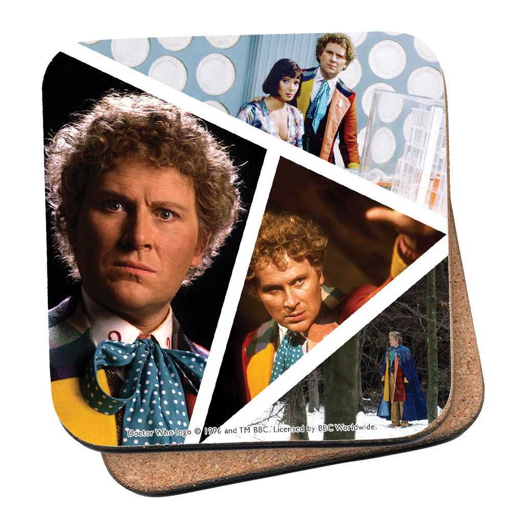 Sixth Doctor Photographic Coaster