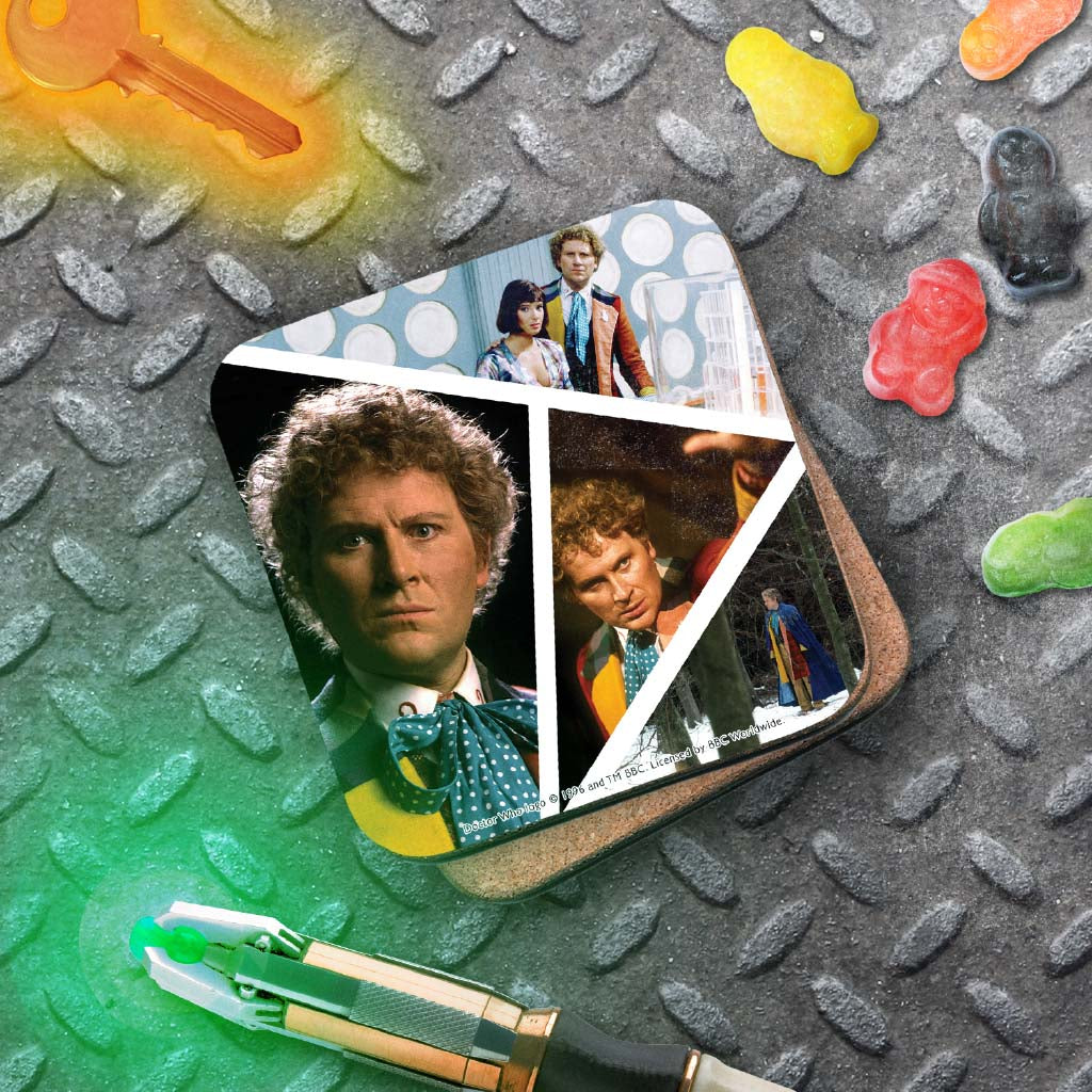 Sixth Doctor Photographic Coaster (Lifestyle)