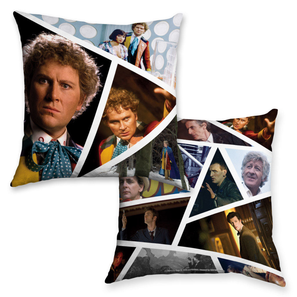 Sixth Doctor Photographic Cushion