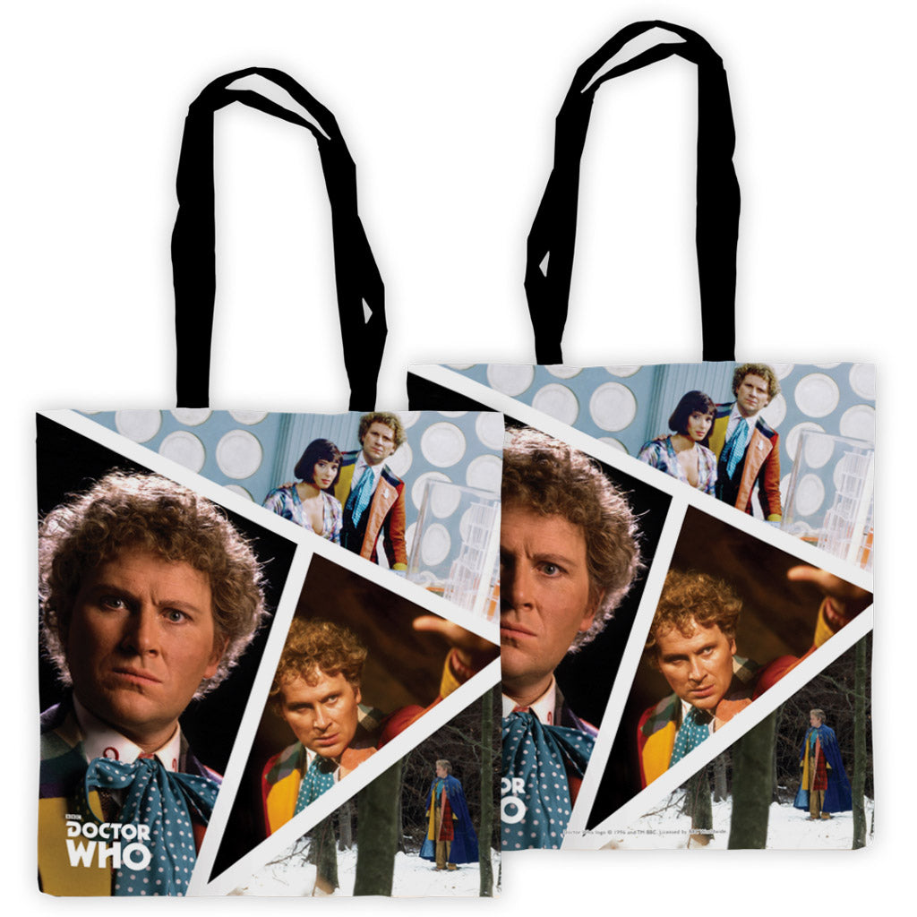 Sixth Doctor Photographic Edge to Edge Tote