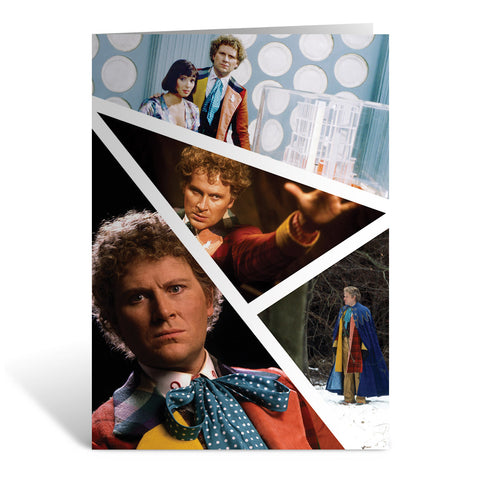 Sixth Doctor Photographic Greeting Card