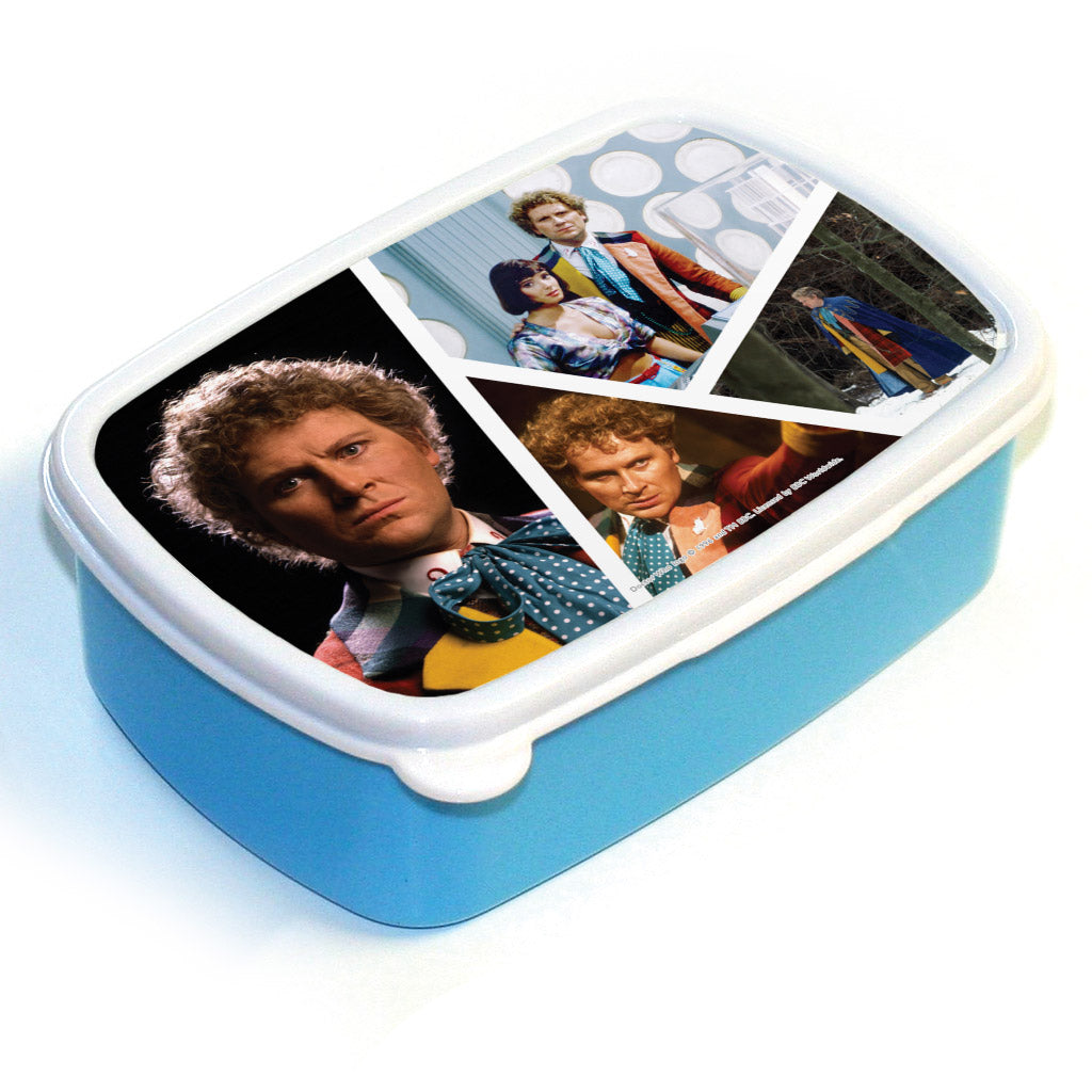 Sixth Doctor Photographic Lunchbox