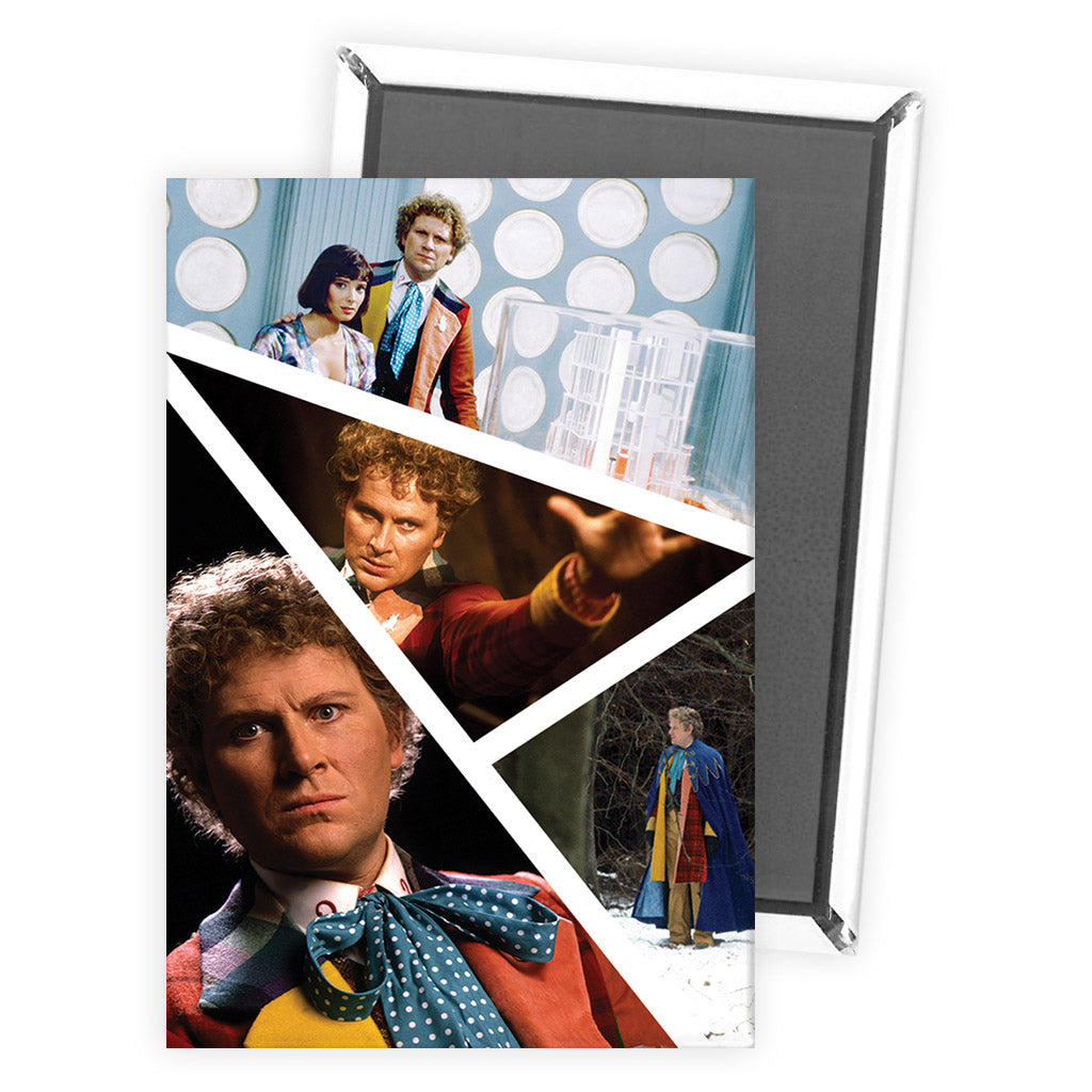 Sixth Doctor Photographic Magnet