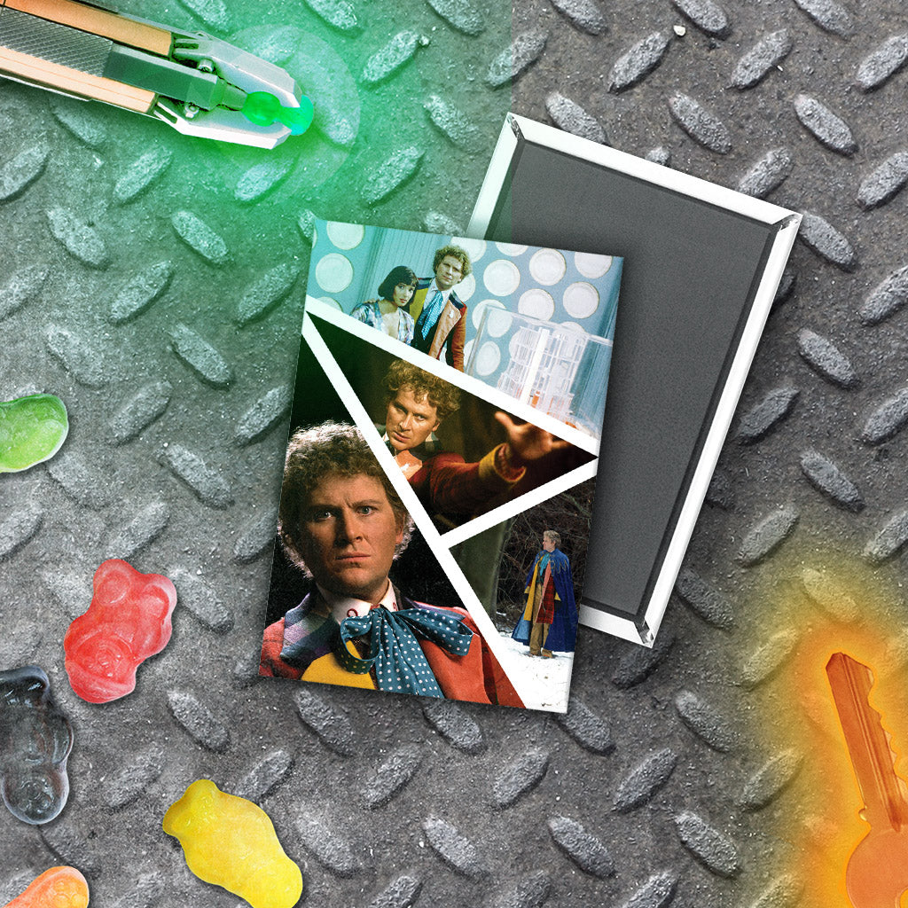 Sixth Doctor Photographic Magnet (Lifestyle)