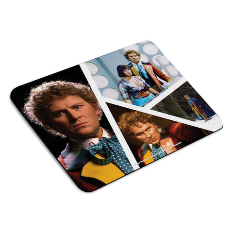 Sixth Doctor Photographic Mousemat