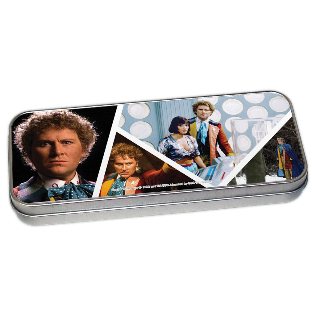 Sixth Doctor Photographic Pencil Tin
