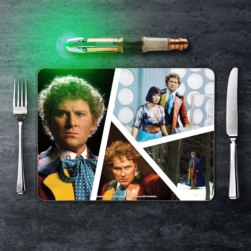 Sixth Doctor Photographic Placemat (Lifestyle)