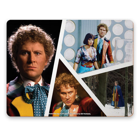 Sixth Doctor Photographic Placemat