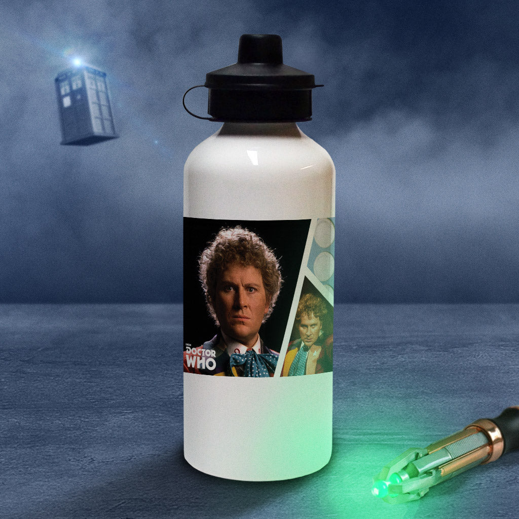 Sixth Doctor Photographic Water Bottle (Lifestyle)