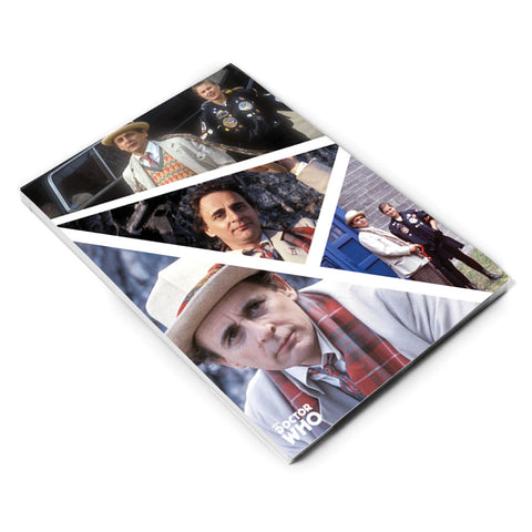 Seventh Doctor Photographic A5 Notepad