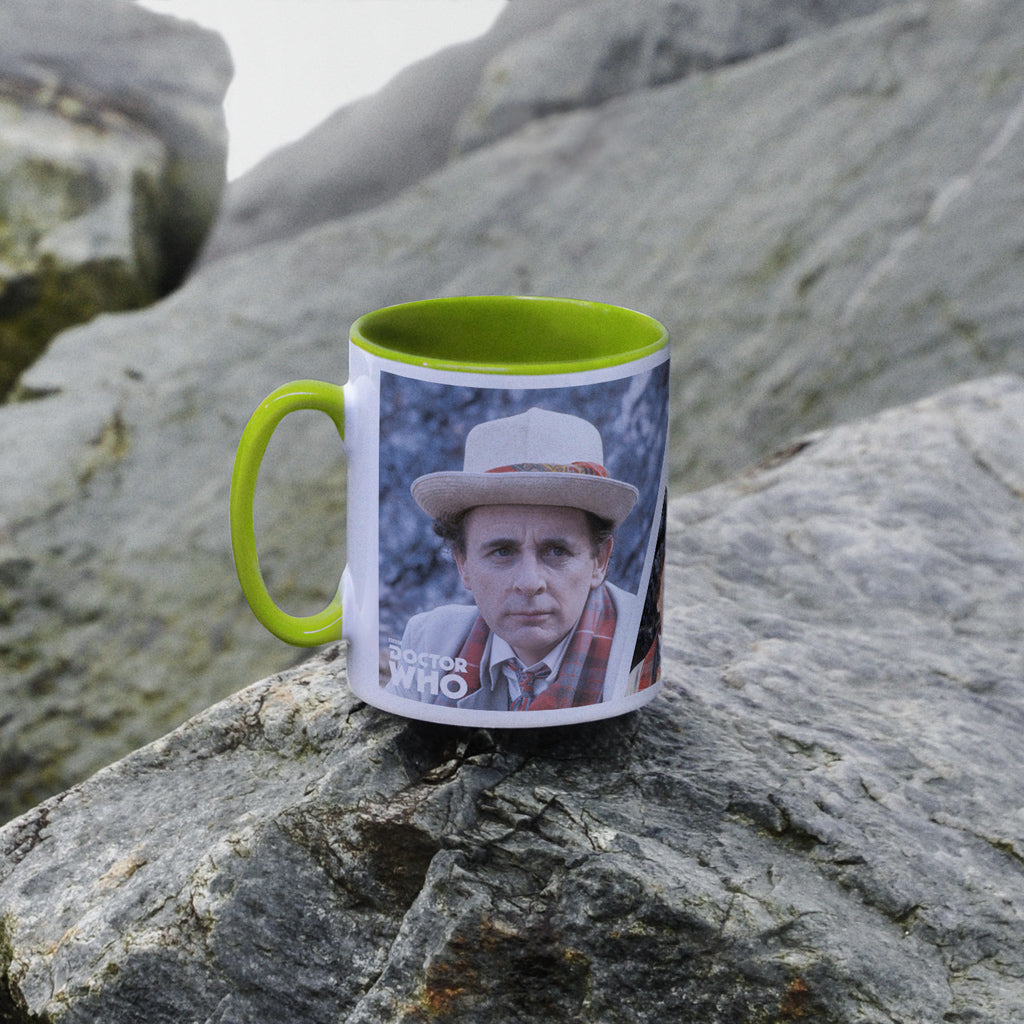 Seventh Doctor Photographic Colour Insert Mug (Lifestyle)