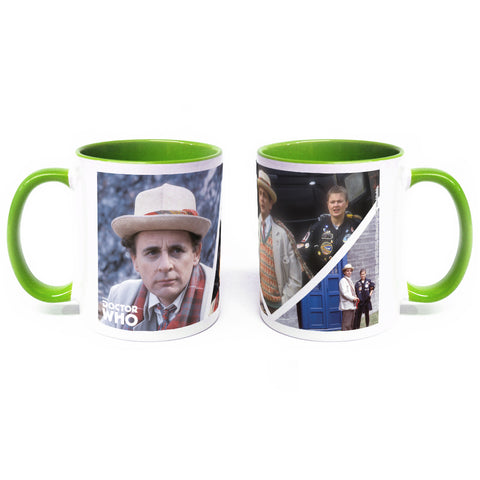 Seventh Doctor Photographic Colour Insert Mug