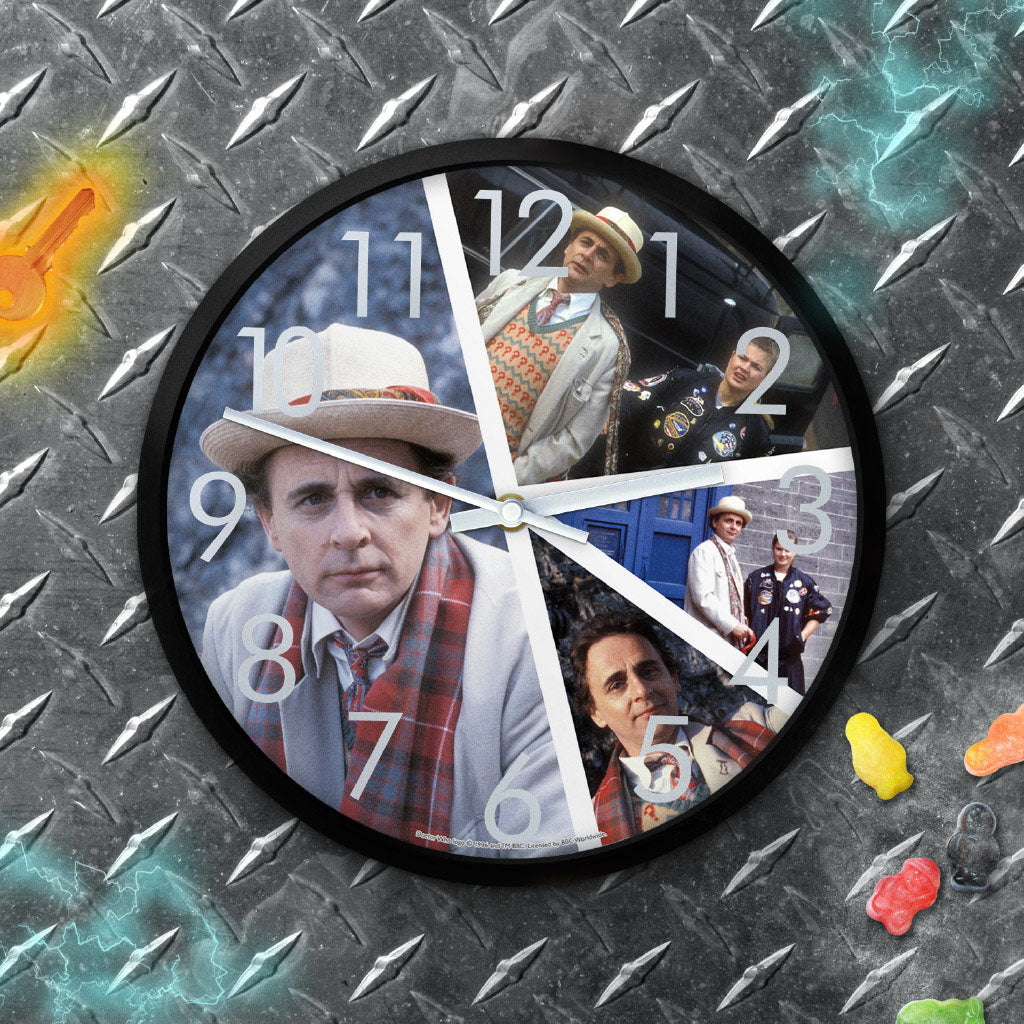 Seventh Doctor Photographic Clock (Lifestyle)
