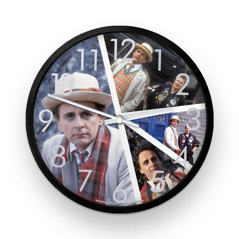 Seventh Doctor Photographic Clock