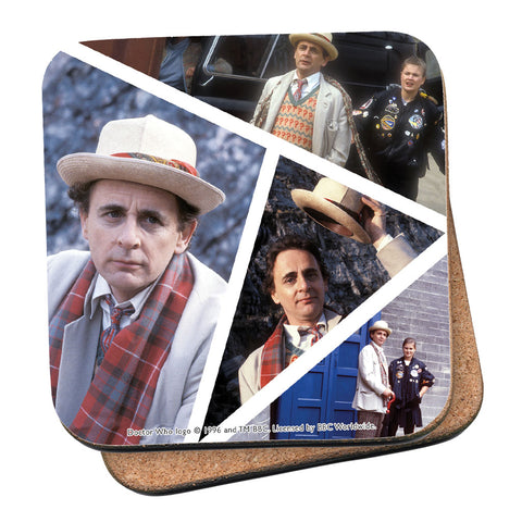 Seventh Doctor Photographic Coaster