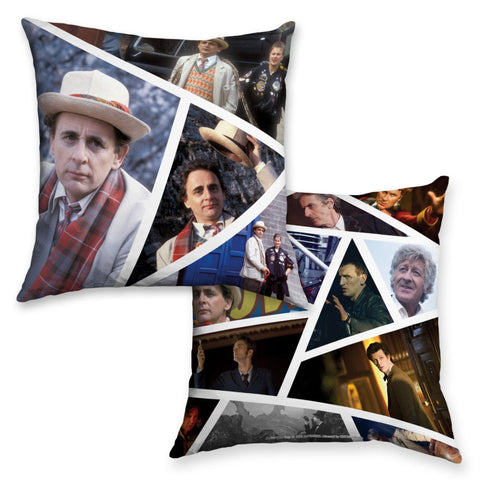Seventh Doctor Photographic Cushion