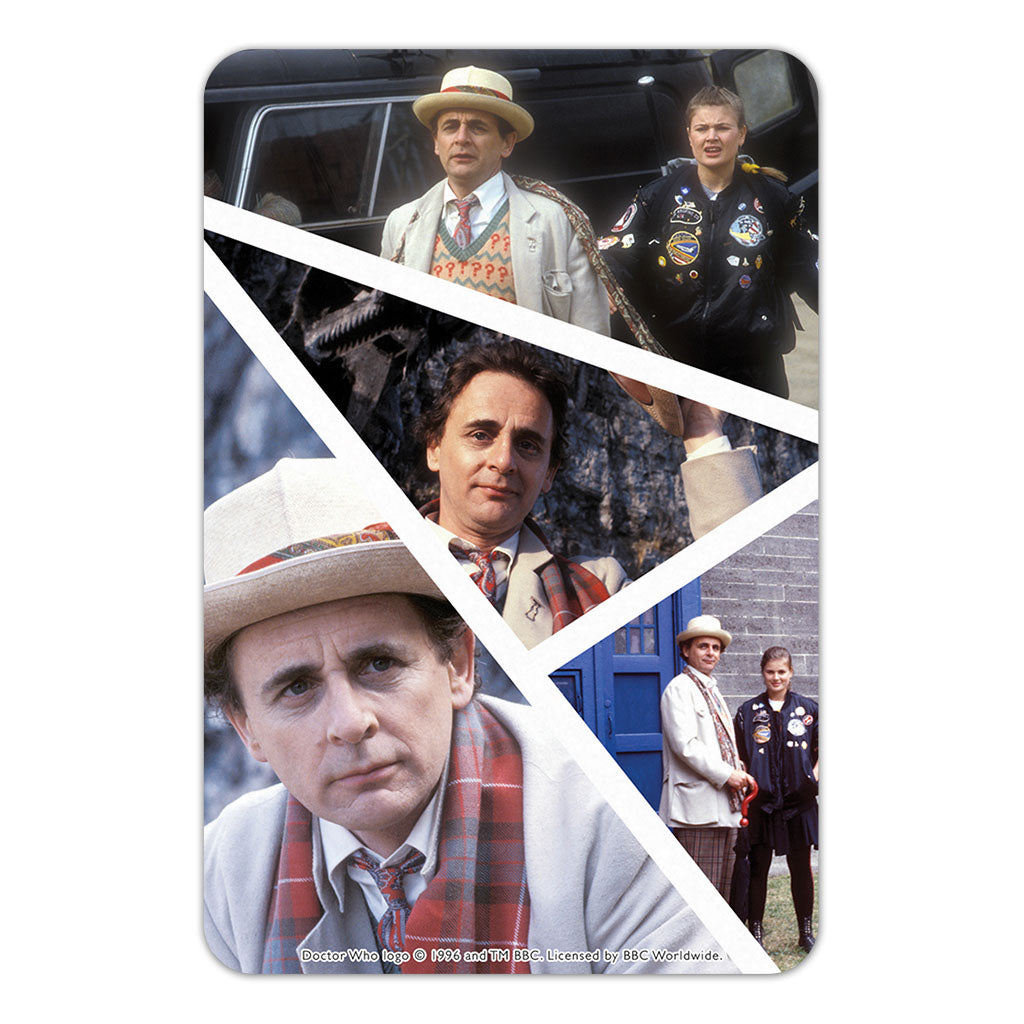 Seventh Doctor Photographic Door Plaque