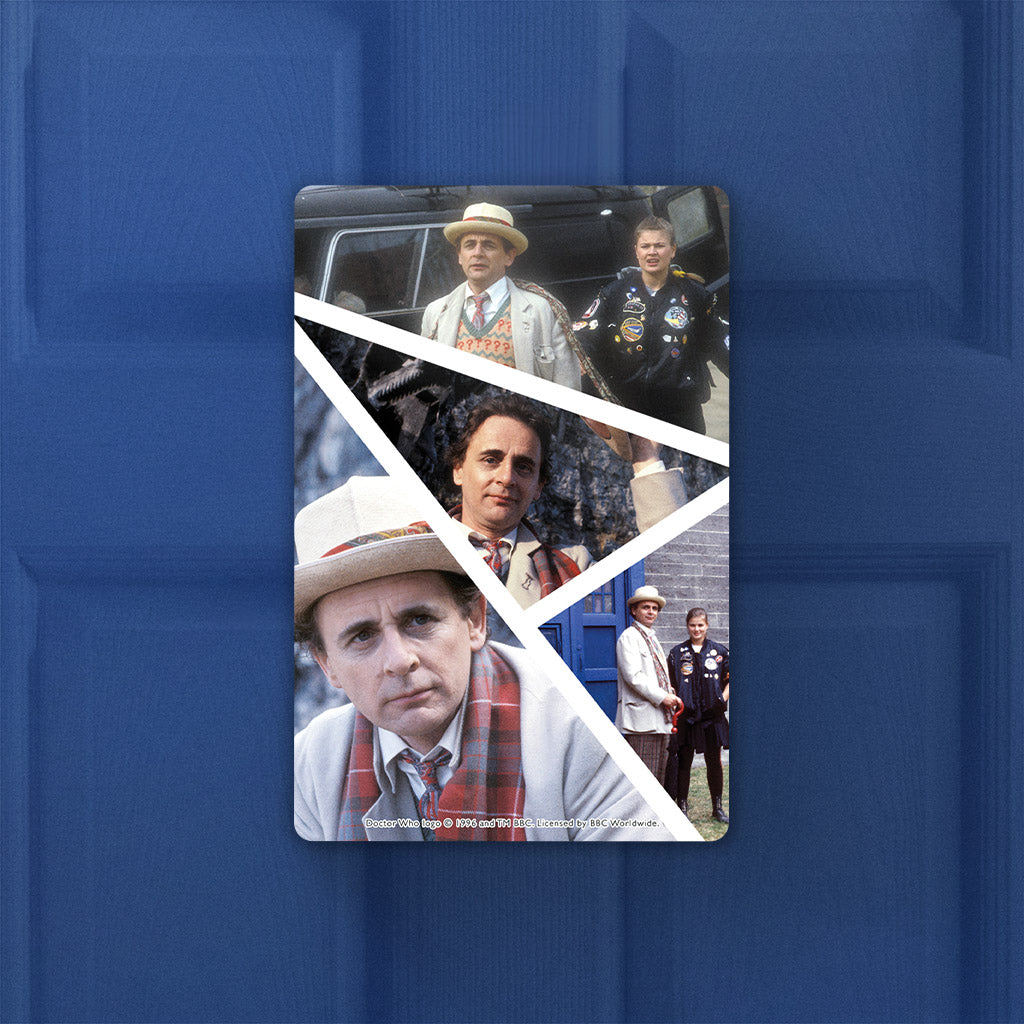 Seventh Doctor Photographic Door Plaque (Lifestyle)