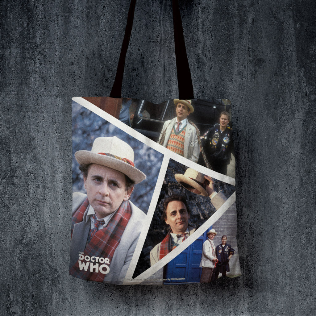 Seventh Doctor Photographic Edge to Edge Tote (Lifestyle)