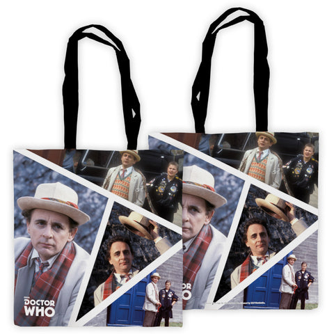 Seventh Doctor Photographic Edge to Edge Tote