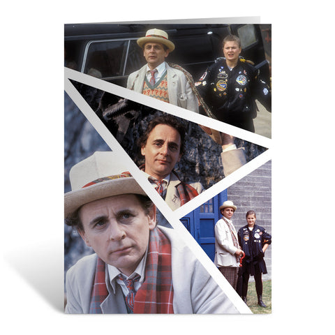 Seventh Doctor Photographic Greeting Card
