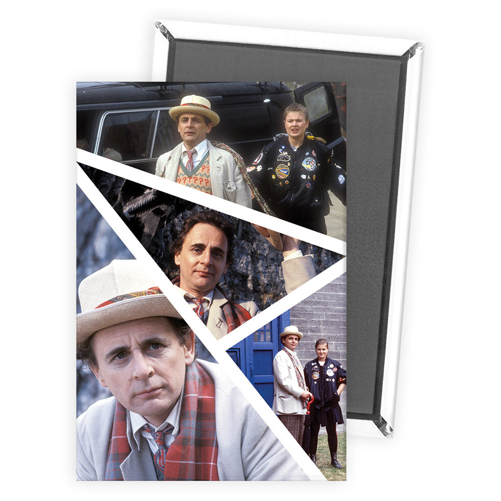Seventh Doctor Photographic Magnet