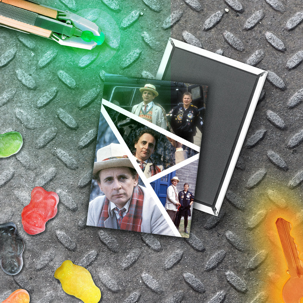 Seventh Doctor Photographic Magnet (Lifestyle)